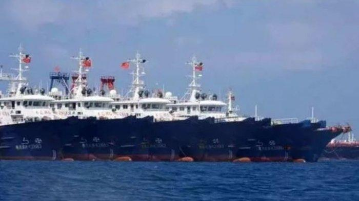 Kedok Kapal Ikan China Dibongkar Filipina, Ternyata Kapal Ikan Tiongkok Hanya Kamuflase