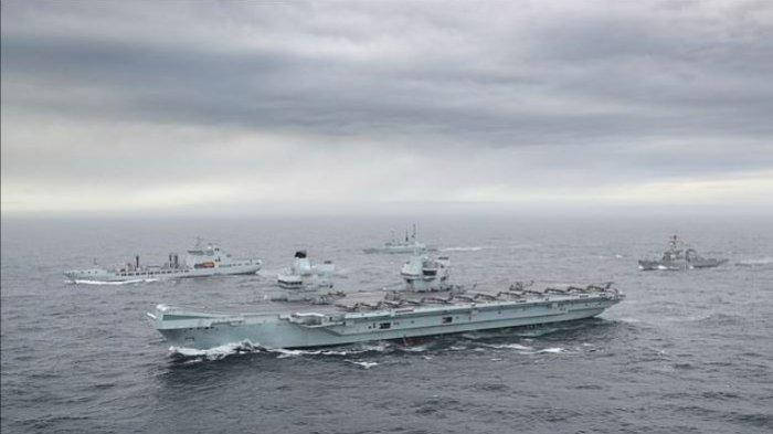 Kapal Induk Induk Ratu Elizabeth Takut Berpapasan Dengan Kapal Induk China Di Laut China Selatan