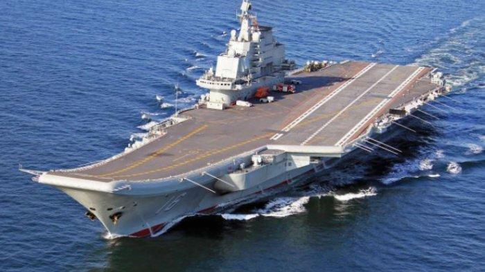 Laut China Selatan Semakin Mencekam, China Gelar Latihan Militer, Kapal Induk Dikerahkan
