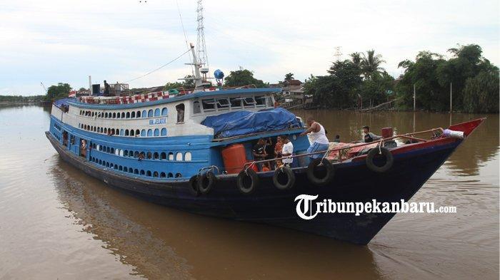 Hari Ini Angkutan Kapal di Pelabuhan Sungai Duku Pekanbaru Kembali Beroperasi