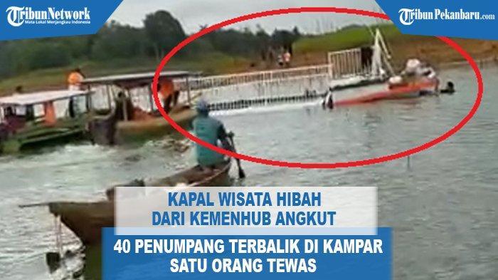 DETIK-detik Kapal Banawa Oleng danTerbalik,Rinaldi Gemetar Kisahkan Korban Tewas Duduk di Sampingnya