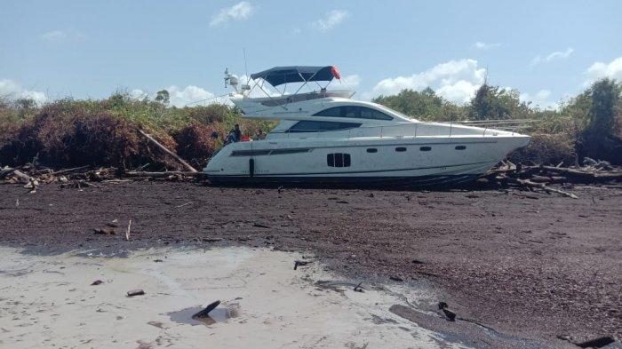 Kapal WNA Terdampar di Perairan Meskom, 4 WNA Asal Thailand Satu WNA Inggris