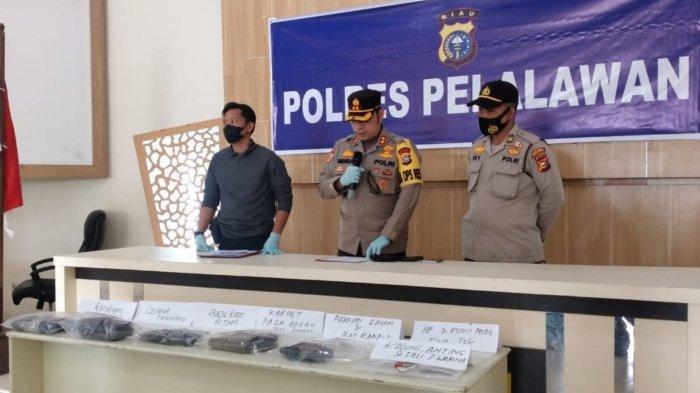 Pengungkapan Pembunuhan Siswi SMP di Pelalawan Riau dari Benda Ini, Pelaku Tak Menyadari