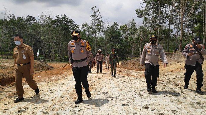 JANGAN Mendekat, Kata Kapolresta saat Tinjau Lokasi Semburan Gas di Ponpes Al Ihsan Pekanbaru