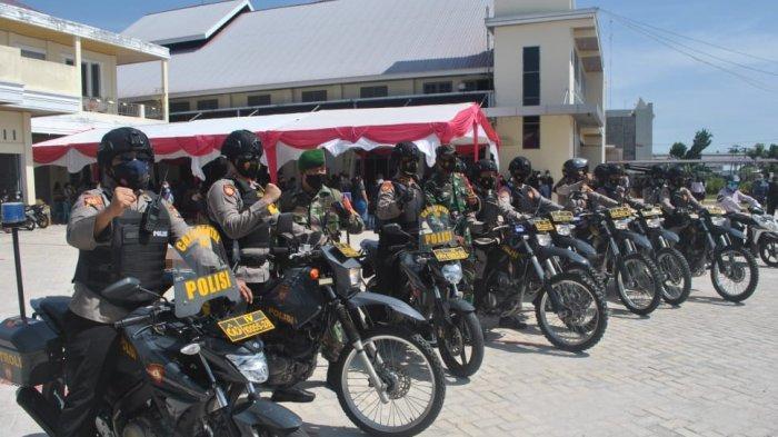 Kapolresta Kombes Pol Nandang Pimpin Patroli Keliling Gereja di Pekanbaru