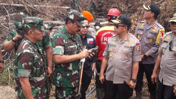 BREAKING NEWS: Panglima TNI dan Kapolri Dijadwalkan Tiba Sore Ini di Pekanbaru, Ini Agendanya