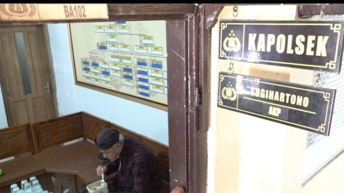 Kapolsek Kaget Ada yang Numpang Makan di Kantornya, Ternyata Ganjar Pranowo, Lauknya Jadi Sorotan