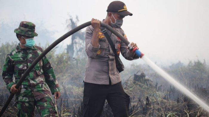 Kisah Kapolsek Muda di Riau, Pernah Dihantam Ombak Bono Saat Menuju Lokasi untuk Padamkan Karhutla