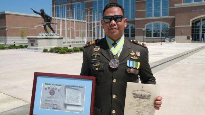 Salut, Perwira TNI AD Asal Pekanbaru Selesaikan Tugas Belajar di Fort Benning dengan Nilai Istimewa