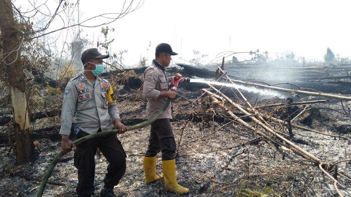 Pemadaman Karhutla di Riau Diperkuat Tiga Helikopter