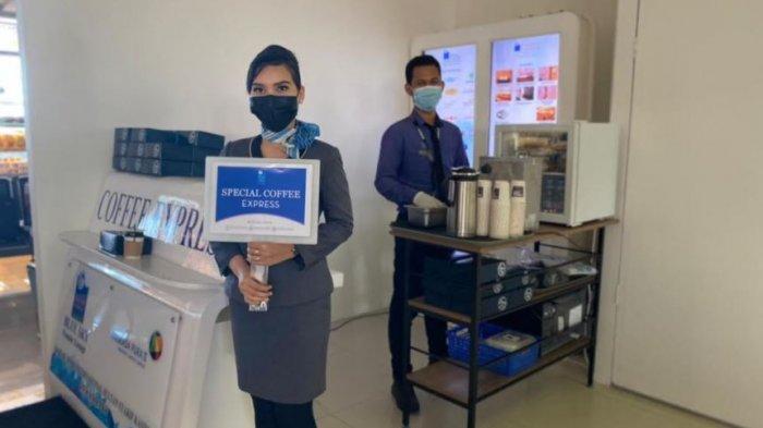 Blue Sky Premier Lounge Sediakan Coffee Express di Ruang Tunggu Bandara