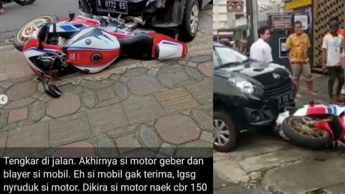 Pemilik CBR 1000RR Ikhlas Tak Ada Ganti Rugi, Kasus Daihatsu Ayla Tabrak Motor Mahal Berakhir Damai