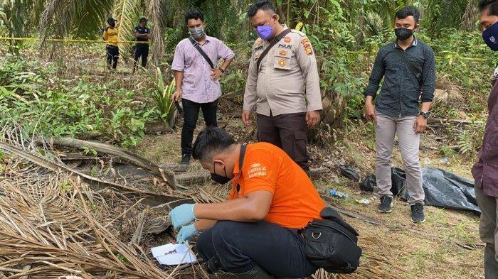 Polisi menyelidiki kasus dugaan pembunuhan dengan korban seorang remaja laki-laki bernama Benferi di Desa Penyaguhan, Kecamatan Batang Gansal, Inhu.