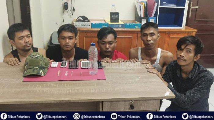 Kasus Narkoba di Riau, BNN Riau Tangkap Pengedar Narkoba, Polres Siak Gerebek 5 Pemuda Pesta Narkoba