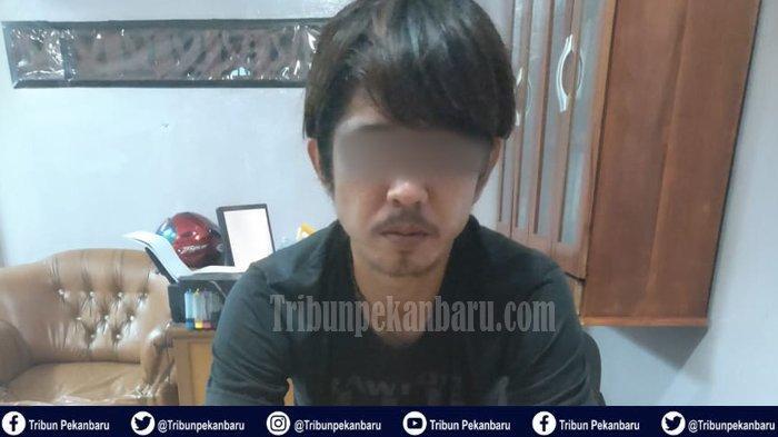 KASUS Narkoba di Riau, Kurir Narkoba Dibuntuti Sebelum Diringkus, Polisi Sita 176 Butir Pil Ecstasy