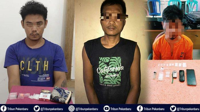Kasus Narkoba di Riau, Penangkapan Bandar Narkoba hingga Pemuda Cari Sampingan Jadi Pengedar Narkoba