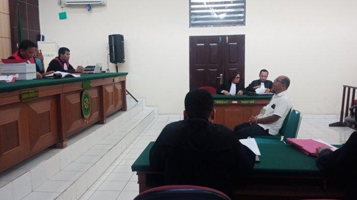 Kasus Karhutla di Riau, Tersangka Alwi dan PT SSS Didakwa Lima Pasal, Sidang Perdana di PN Pelalawan