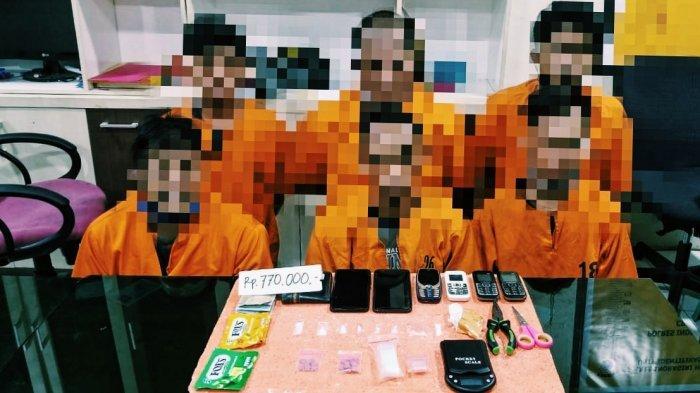 Kasus Narkoba di Inhil, 1 Oknum PNS Ikut Diamankan Bersama Residivis