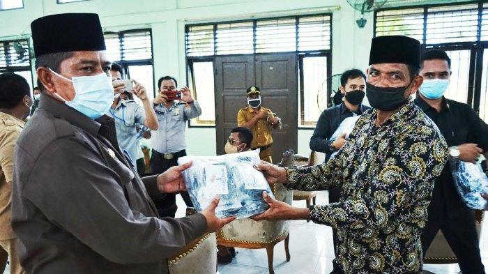 Kasus Terendah Covid-19 di Siak Adalah Kecamatan Pusako, Bupati Alfedri: Prokes Harga Mati