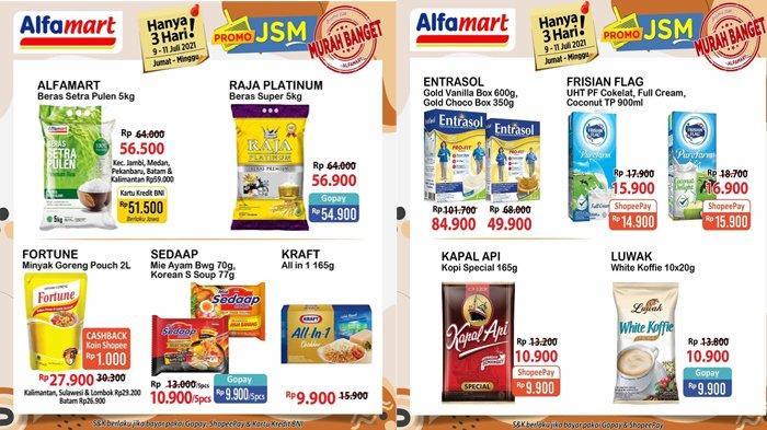 Minyak Goreng, Susu dan Beras Lagi Promo, Cek Katalog Promo Alfamart Hari Ini 11 Juli 2021