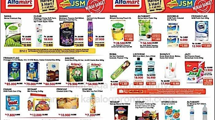 Promo JSM Alfamart 2 - 4 Juli 2021, Promo Akhir Pekan Minyak Goreng hingga Susu, Cek Daftarnya