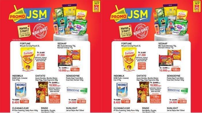 Promo JSM Alfamart Hari Ini 25 Juli 2021, Promo Minyak Goreng, Beras hingga Popok