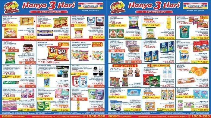 Promo Indomaret Hanya 3 Hari, Minyak Goreng, Sabun Mandi, Susu hingga Popok Diskon Bund