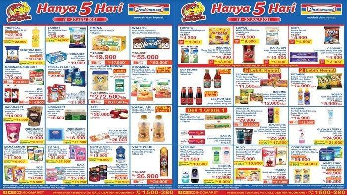 Katalog Promo JSM Indomaret 16 hingga 20 Juli 2021, Minyak Goreng hingga Popok, Harga Spesial
