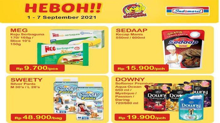 Katalog Promo Super Heboh Indomaret 1 hingga 7 September 2021