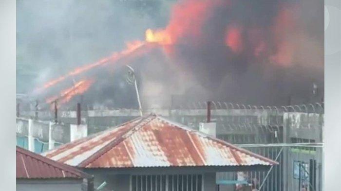 Kebakaran di Lapas Kelas IIA Biaro Bukittinggi, 4 Kamar di Blok D Ludes Dilalap Api