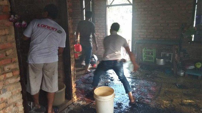 Detik-Detik Balita Tewas Terbakar di Siak Hulu, Suasana Seketika Heboh dan Mencekam