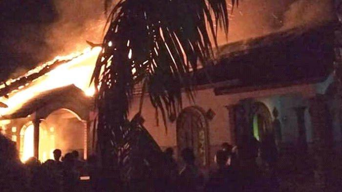 Narapidana yang Dibebaskan Justru Membakar Rumah Mertua, Gegara Ditolak Istri Pulang ke Rumah