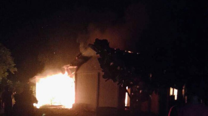 Satu Rumah Terbakar, Korban Tidak Bisa Selamatkan Diri Karena Stroke