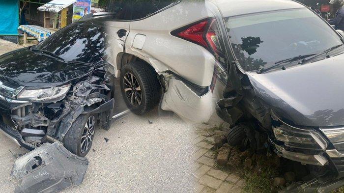 Kecelakaan Beruntun di Pekanbaru, Berikut Kronologinya