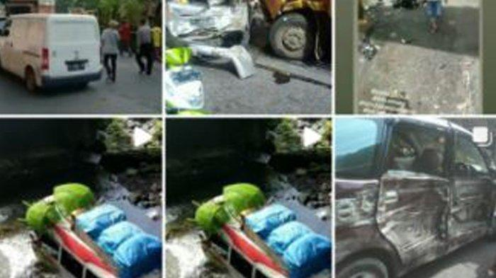 Kecelakaan di Lembah Anai, Ada Mobil Terjun ke Sungai, Belum Dilaporkan Ada Korban Jiwa