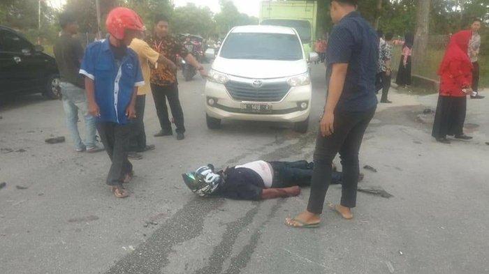 Kecelakaan Lalu-lintas di Jalan Raya Bukit Datuk, Dumai, Pengendara Motor Meninggal Dunia