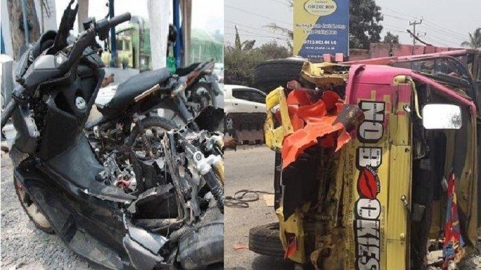 1 Keluarga Tewas Dihatam Truk Saat Foto Selfie di Pinggir Jalan, Begini Kronologi Kecelakaan
