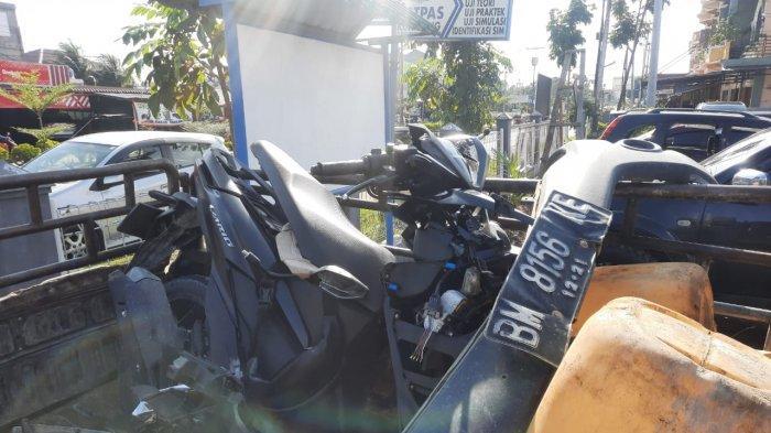 Kecelakaan Maut di Kuansing, Pengendara Sepeda Motor Tewas Setelah Tabrak Bagian Depan Mobil