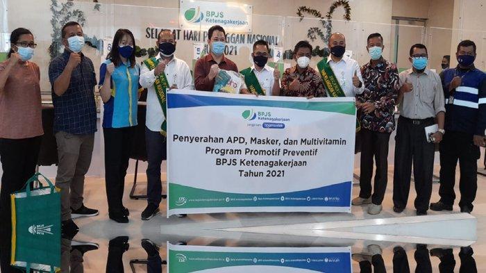 FOTO: Kegiatan Promotif dan Preventif BPJS Ketenagakerjaan Kanwil Sumbar-Riau-Kepri Tahun 2021