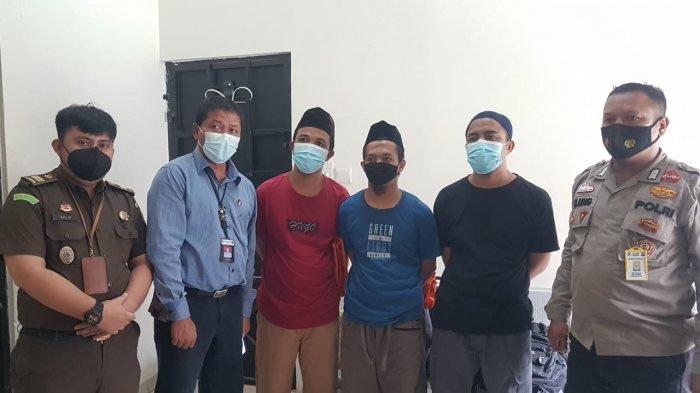 Kejari Pelalawan Terima Tahap ll Kasus Sabu 5 Kg dengan 3 Pelaku yang Ditangani Polda Riau