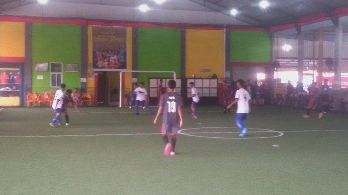 Tim Pekanbaru Bertemu Tim Bengkalis di Final Kejurda Futsal Pelajar 2018