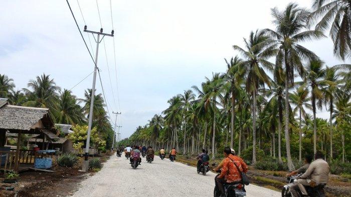 Status Jalan Strategis di Pulau Rangsang Masih Kabupaten