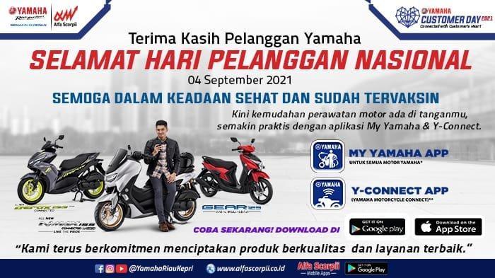 Hari Pelanggan Nasional, Yamaha Alfa Scorpii Bagi-bagi Hadiah, Ada Satu Unit Motor