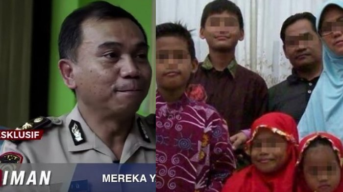 Polisi Bocorkan Pesan Misterius Anak Teroris Dita Sebelum Lancarkan Aksi Bom di Surabaya