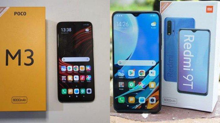 Speknya Mirip dan Harganya Beda Tipis, Pilih Xiaomi Redmi 9T Aatau Poco M3?