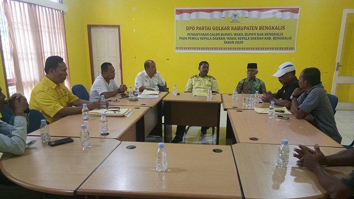 Dari 11 Pendaftar, Hanya 8 Orang Kembalikan Berkas ke Golkar Bengkalis Riau