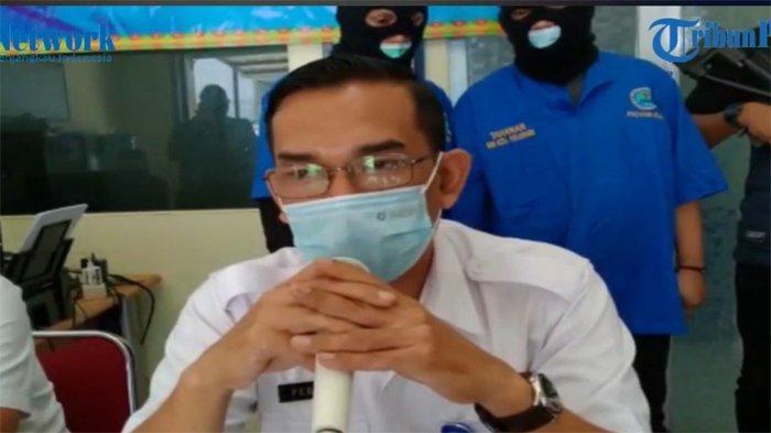 Kepala BNNK Pekanbaru, Febri Firmanto