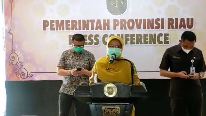 Kasus Covid-19 di Riau Melonjak, Tambah 172 Kasus Baru, Total Capai 25.667 Kasus