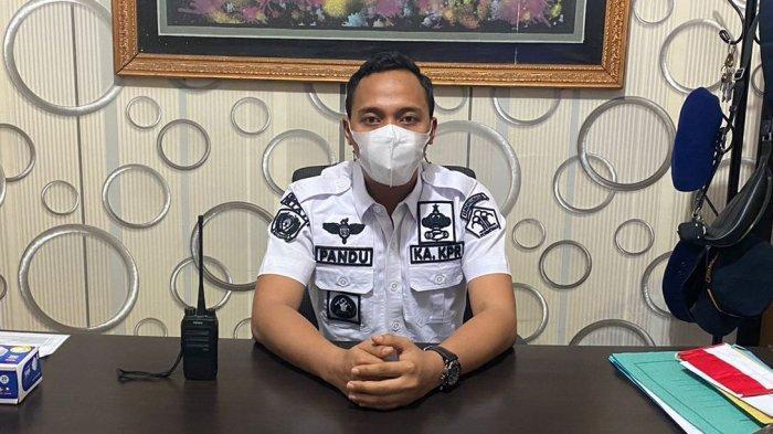 Kepala Kesatuan Pengamanan Rutan Klas IIB Dumai, Pandu Akbar Wijayanto