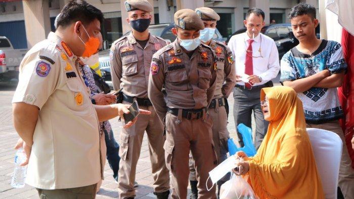 Satu Kali Razia Prokes di Pekanbaru Terkumpul Denda Rp 1,5 Juta dari Pelanggar